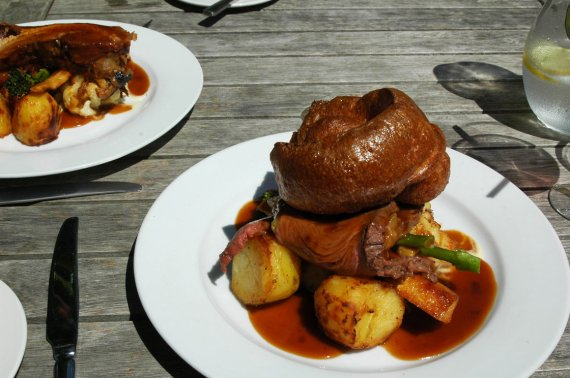 Roast Beef at Pelham House Hotel