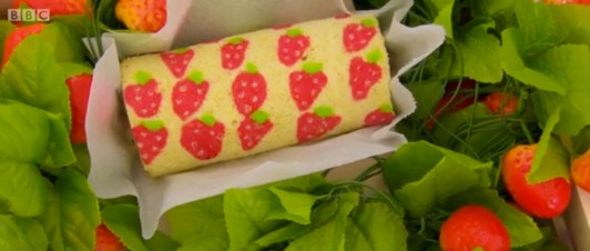 Kawaii Swiss Roll Great British Bake Off
