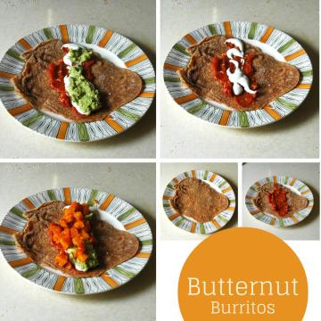 Butternut Burritos