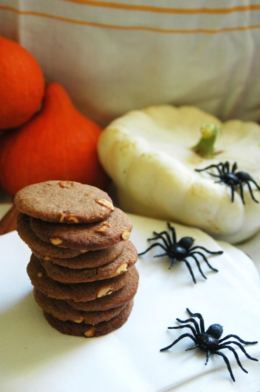 Halloween Honey-Nut Biscuits