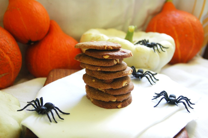 Halloween Honey-Nut Biscuits