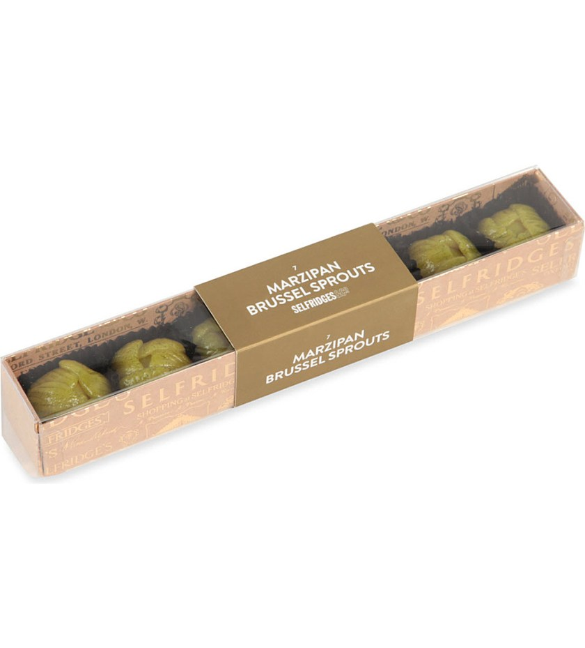 Marzipan Brussel Sprouts Selfridges