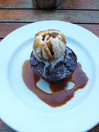 Sticky Toffee Pudding at The Hop Pole Inn, Bath