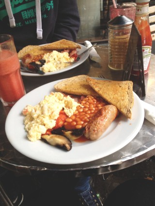 West Country Breakfast at The Boston Tea Party, Bath