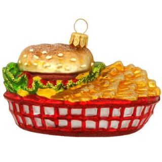 Burger Christmas Decoration
