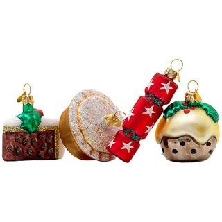 Bombki Little English Christmas Ornaments