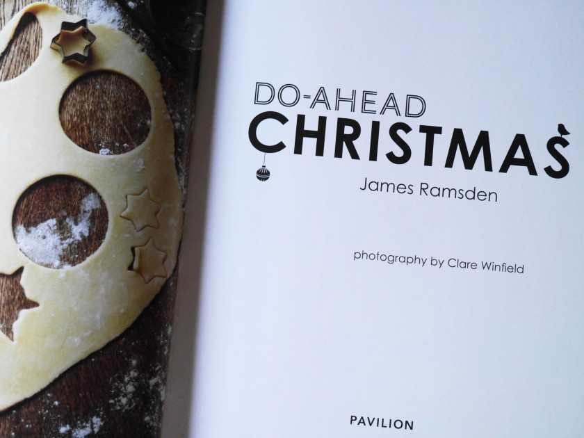 James Ramsden Do-Ahead Christmas Book Review
