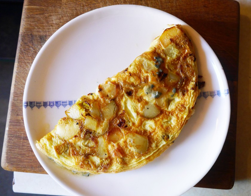 The Christmas Leftovers Omelette