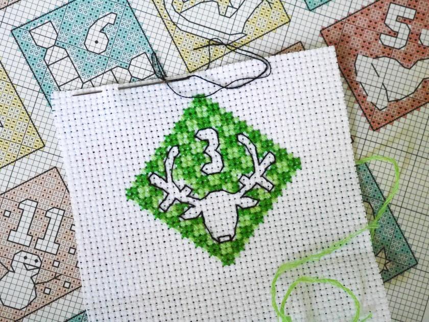 Christmas Cross Stitching