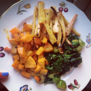 Veganuary Cate in the Kitchen
