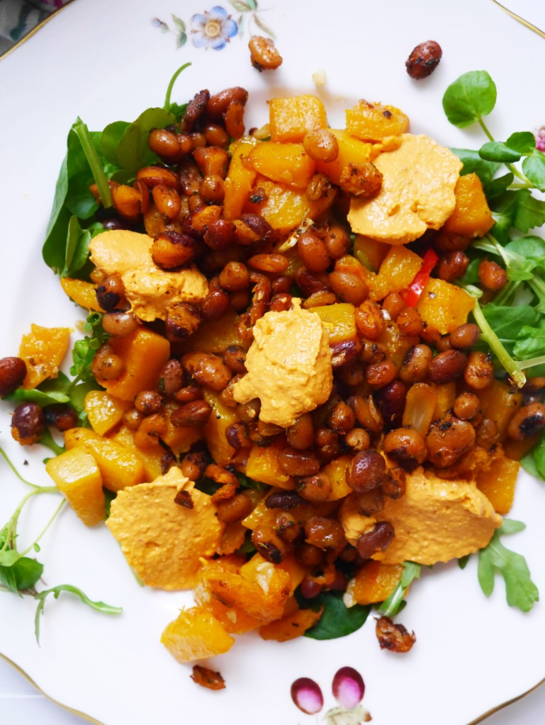 Vegan BBQ Beans and Butternut Squash | Cate in the Kitchen