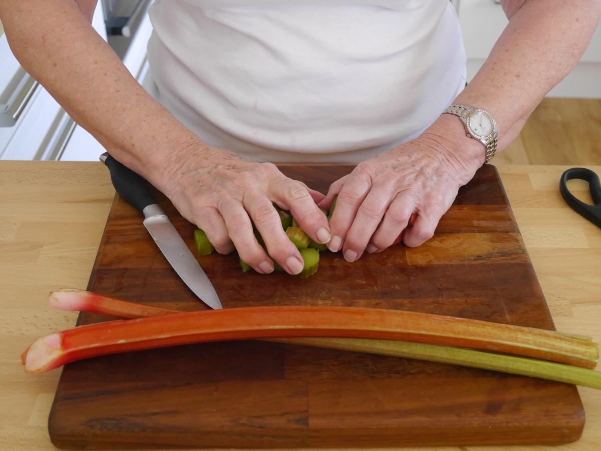 How to Stew Rhubarb | Nan's Kitchen