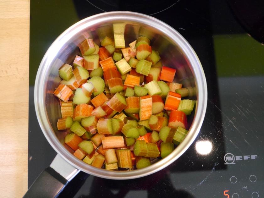 How to Stew Rhubarb