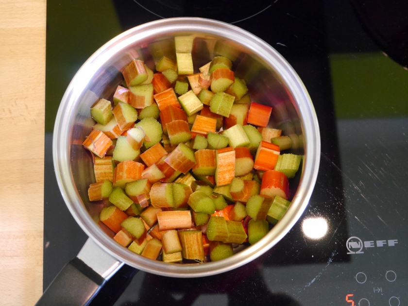 How to Stew Rhubarb