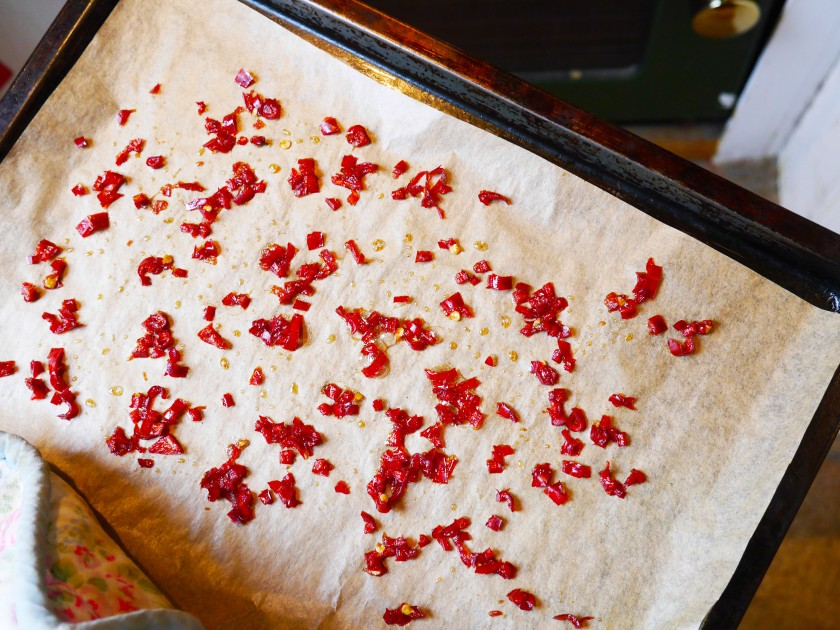 Candied Chillies | Cate in the Kitchen
