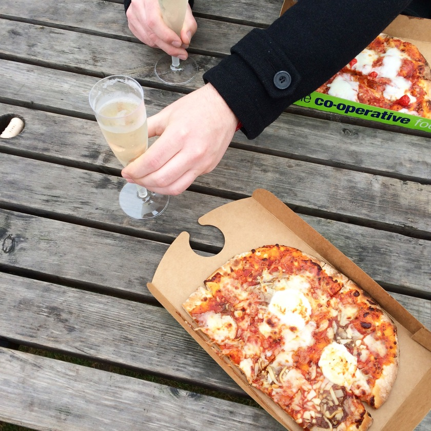 Pizza and prosecco Co-op foodies festival