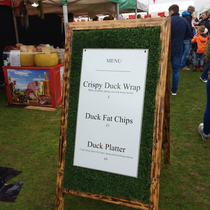 Duck Fat Chips foodies festival