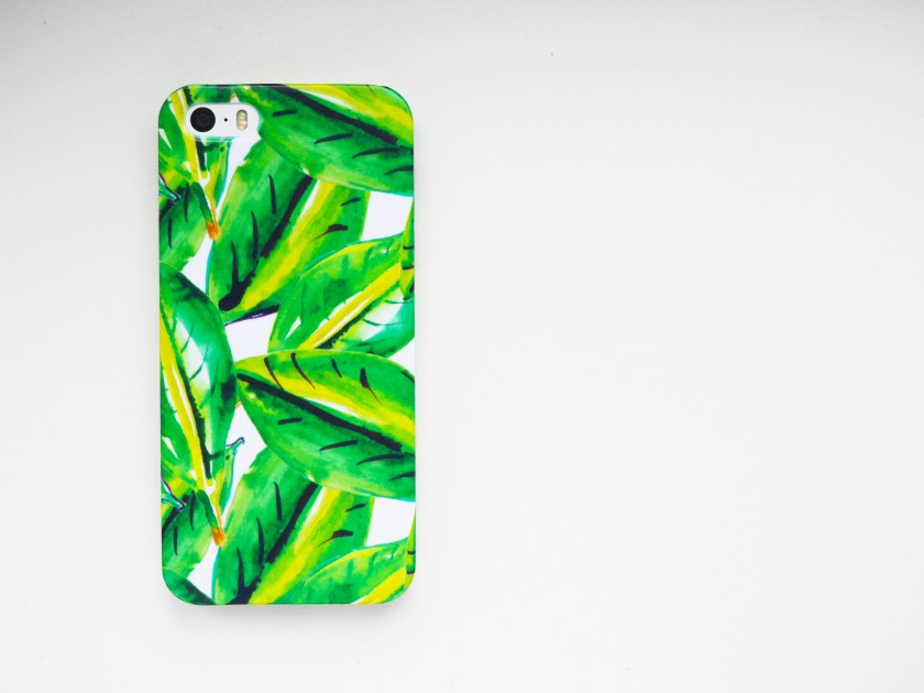 Palm print phone case Cate in the Kitchen