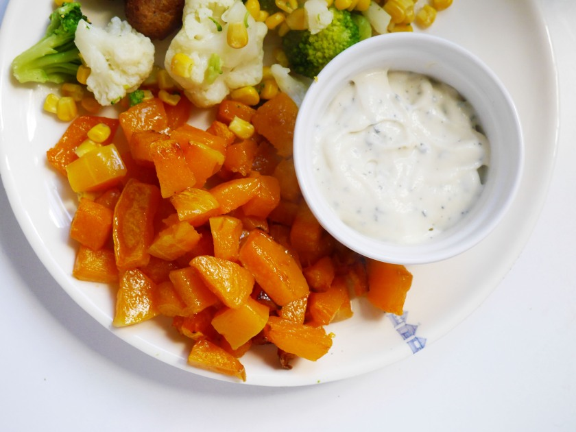 Roast Squash and Sage and Butter Sauce