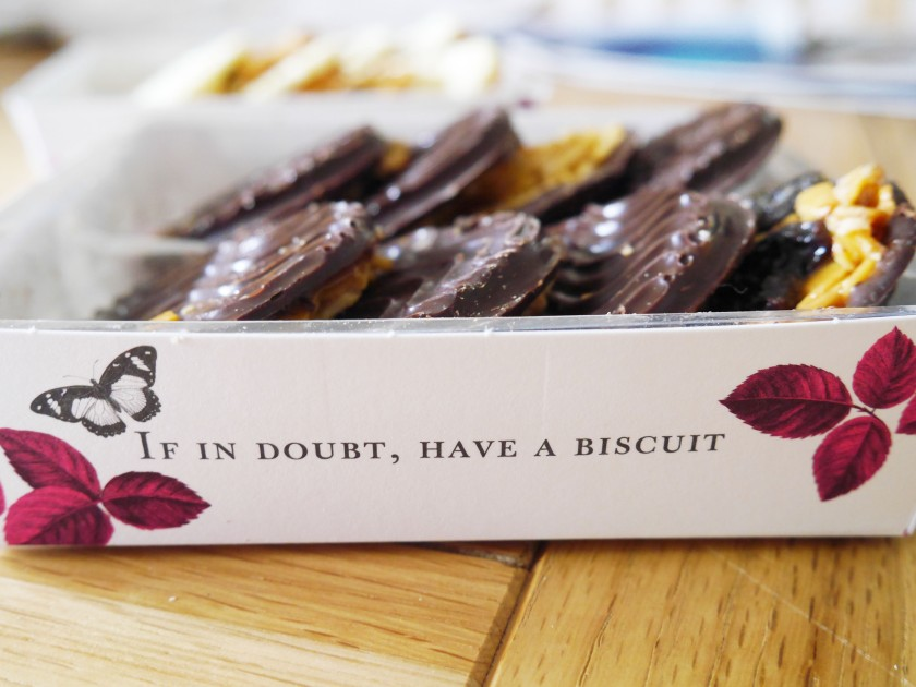 Thomas J Fudge's Florentines | Cate in the Kitchen