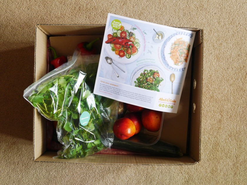 Abel and Cole Super Salad Box Review