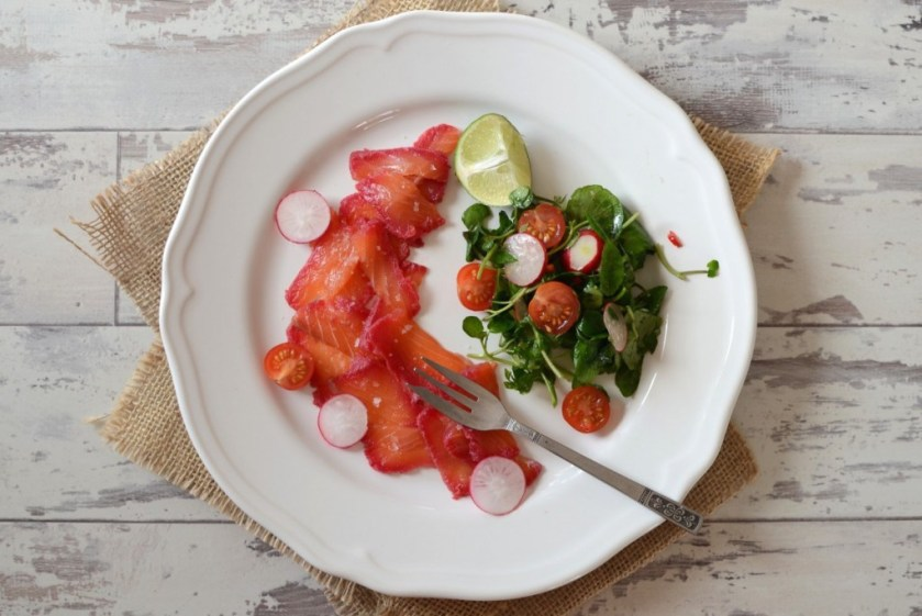 Spoonie Sophia's Home Cured Salmon