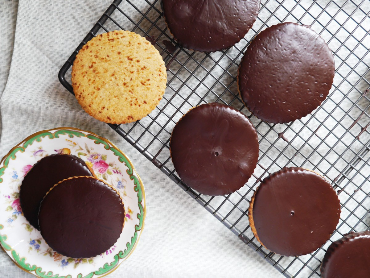 Ginger, Dark Chocolate and Coconut Sugar Cookies | Cate in the Kitchen