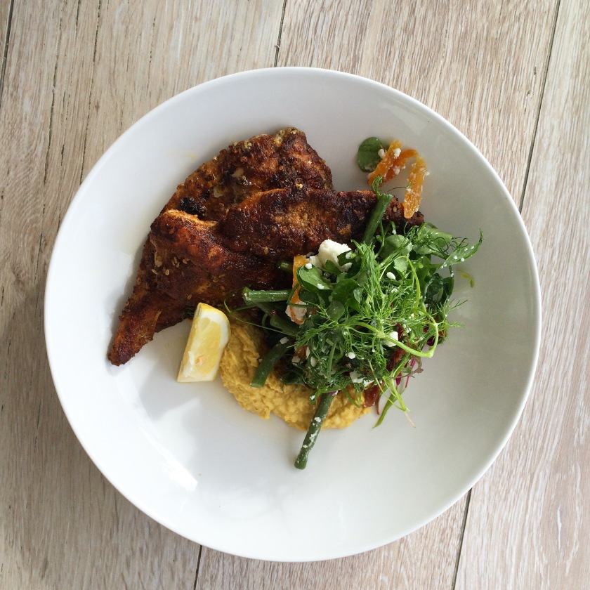St Ives Porthmeor Beach Cafe Review Moroccan Chicken