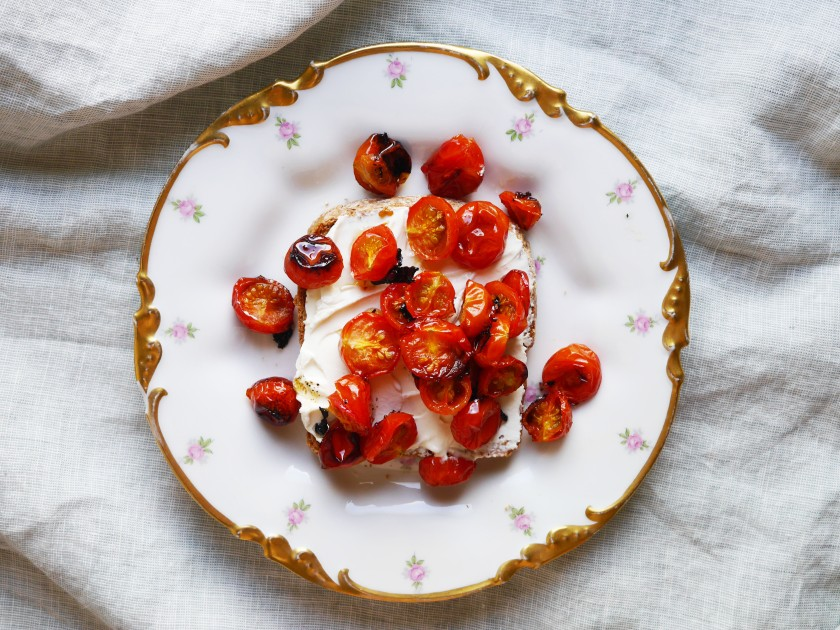 Sweet Roasted Tomatoes | Cate in the Kitchen