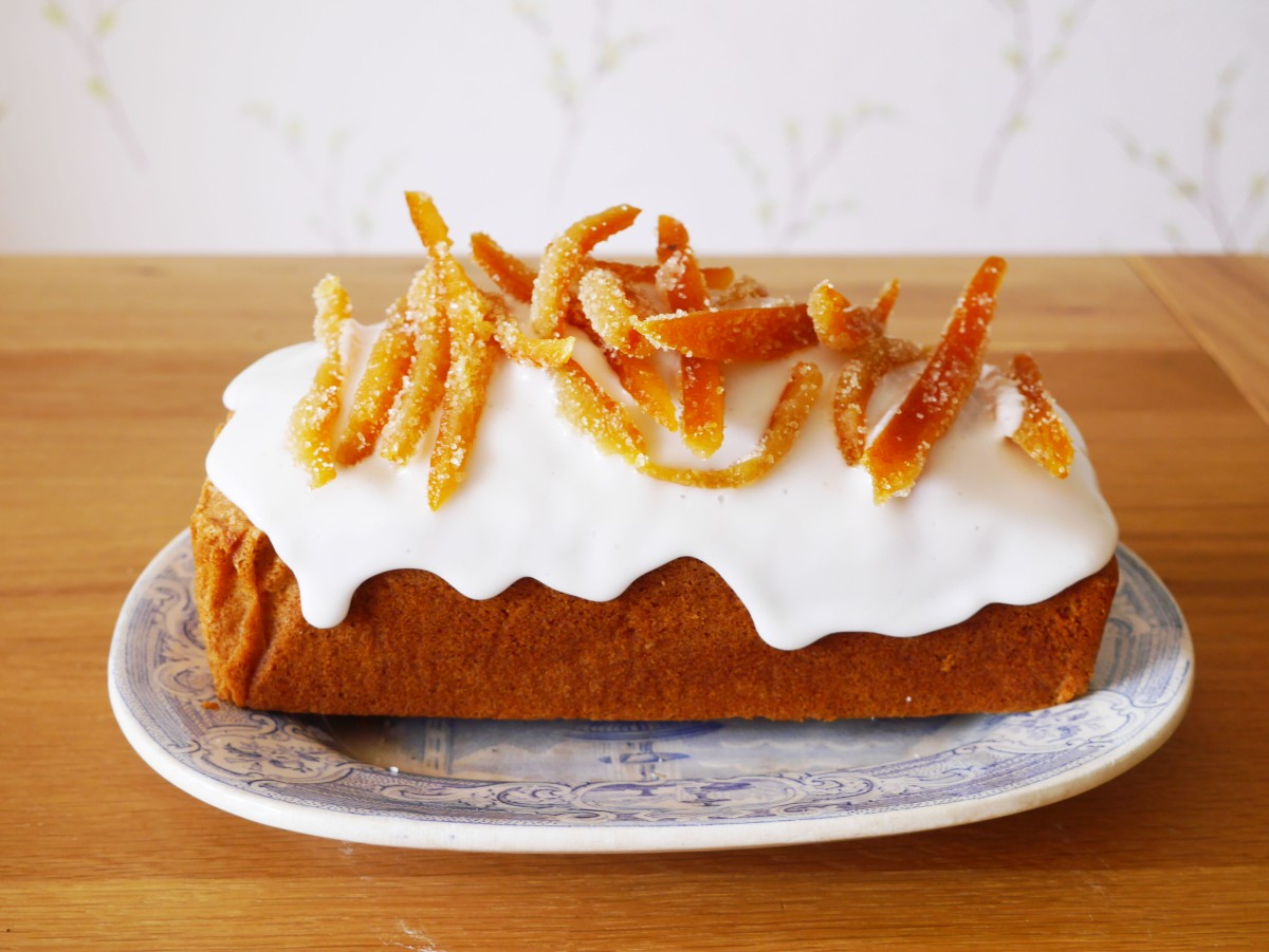 Madeira Cake Great British Bake Off | Cate in the Kitchen
