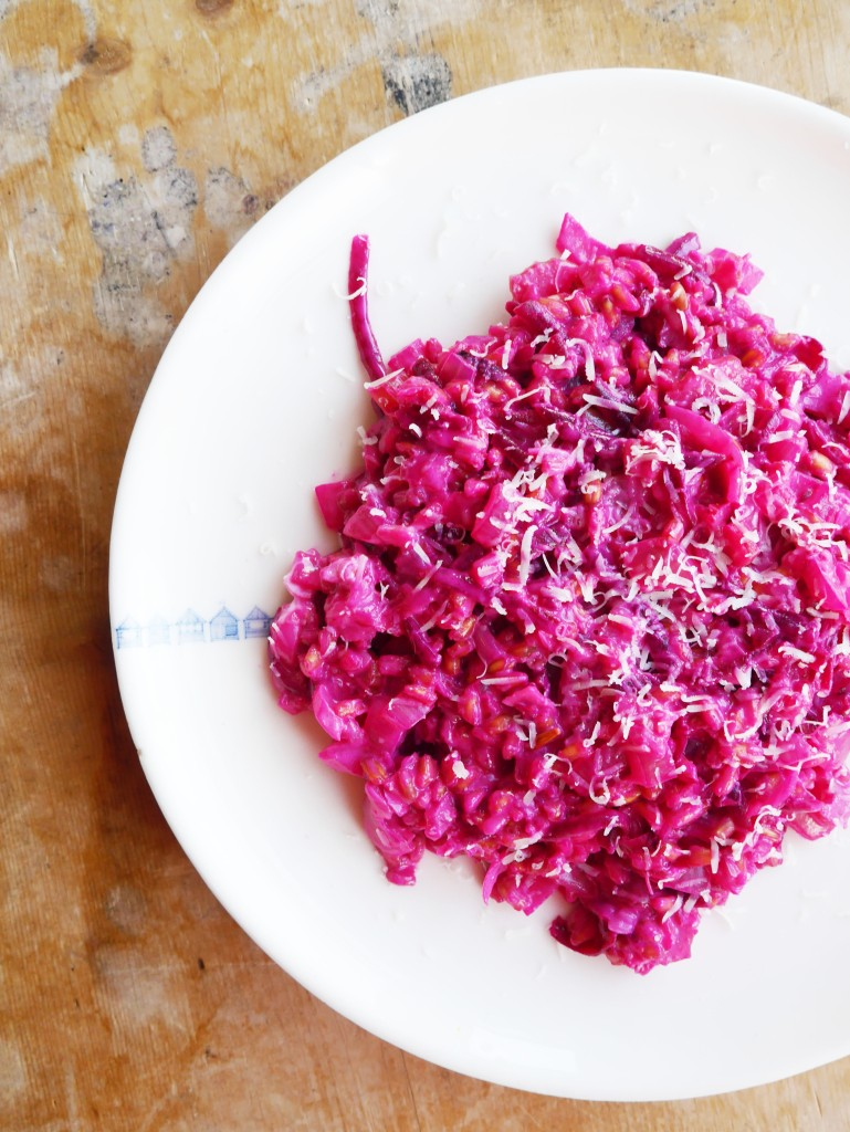 Beetroot Pearled Spelt Risotto