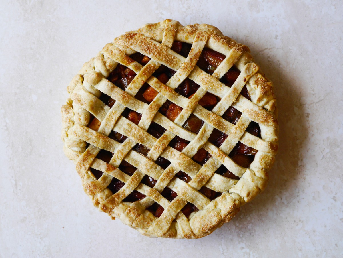 Greengage Pie