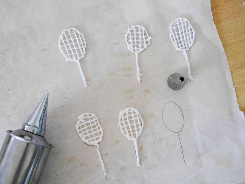 Icing Tennis Rackets