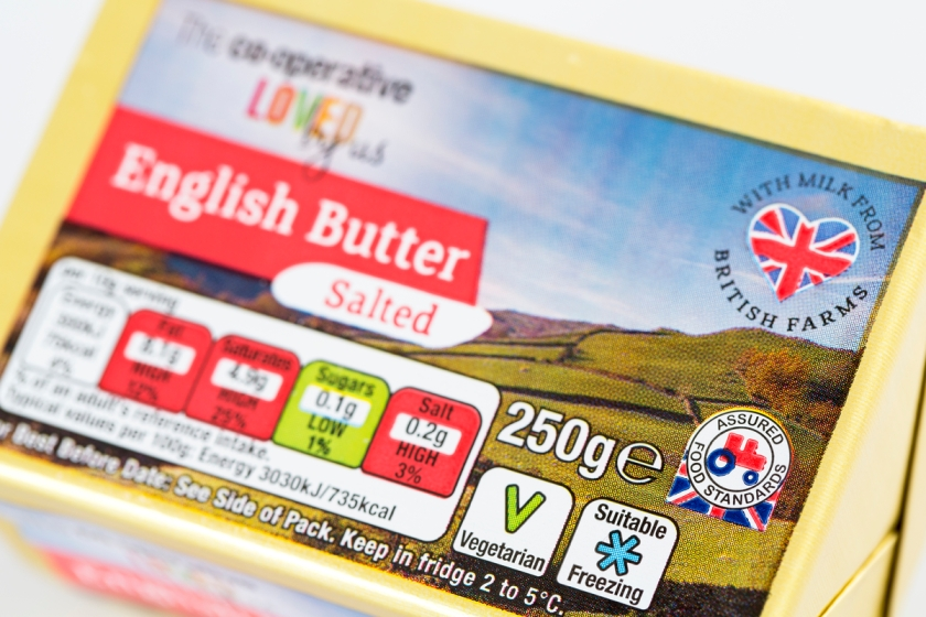 Red Tractor Butter