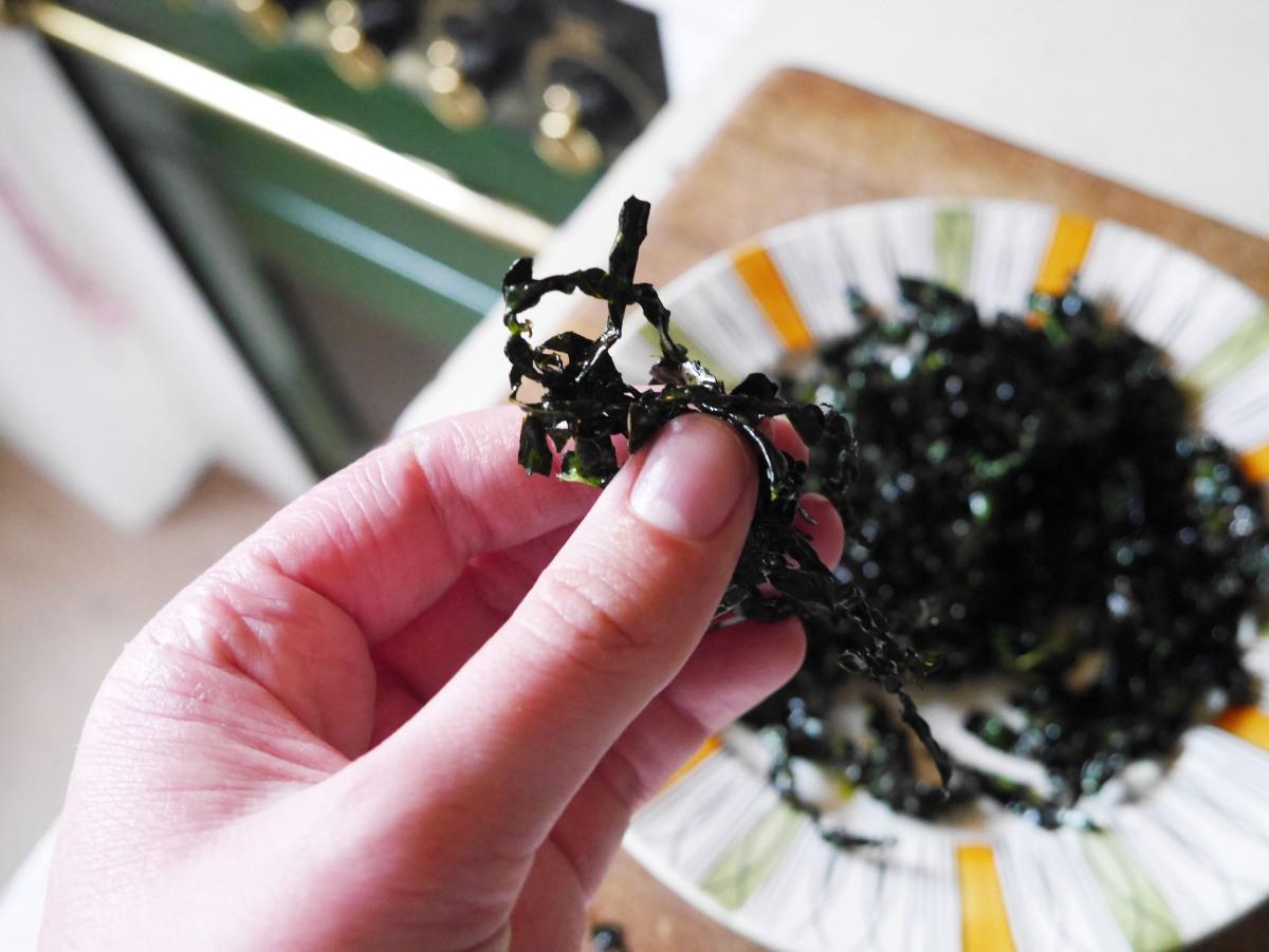 Chinese Takeaway Crispy Seaweed