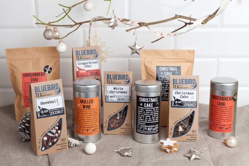 Bluebird Tea Co Christmas Selection