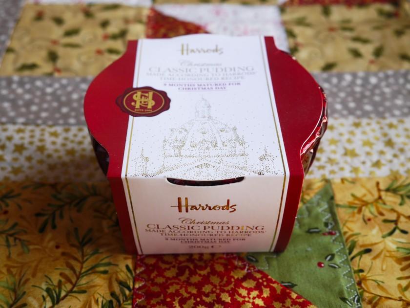 Harrods Christmas Hamper Christmas Cake