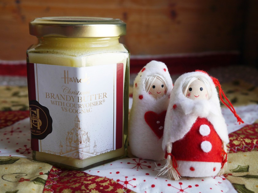 Christmas Harrods Hamper Brandy Butter