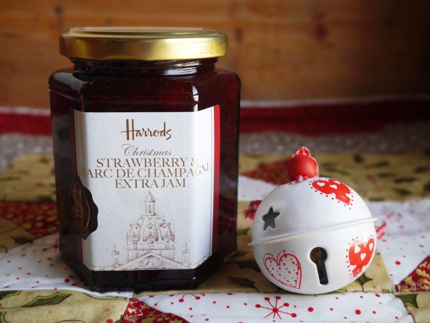Harrods Christmas Hamper Strawberry Jam