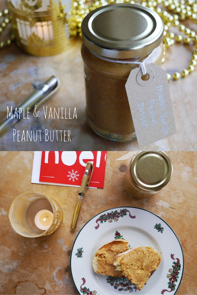 Maple & Vanilla Peanut Butter