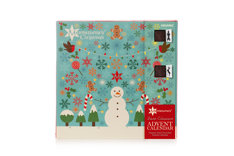 Montezuma's Dark Chocolate Dairy Free Advent Calendar
