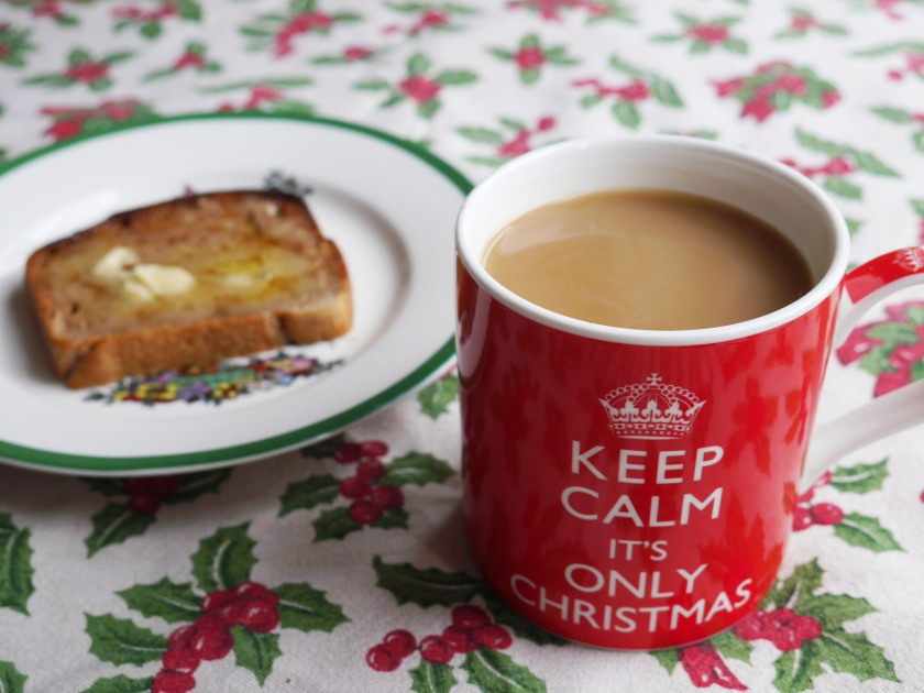 Keep Calm It's Only Christmas Mug