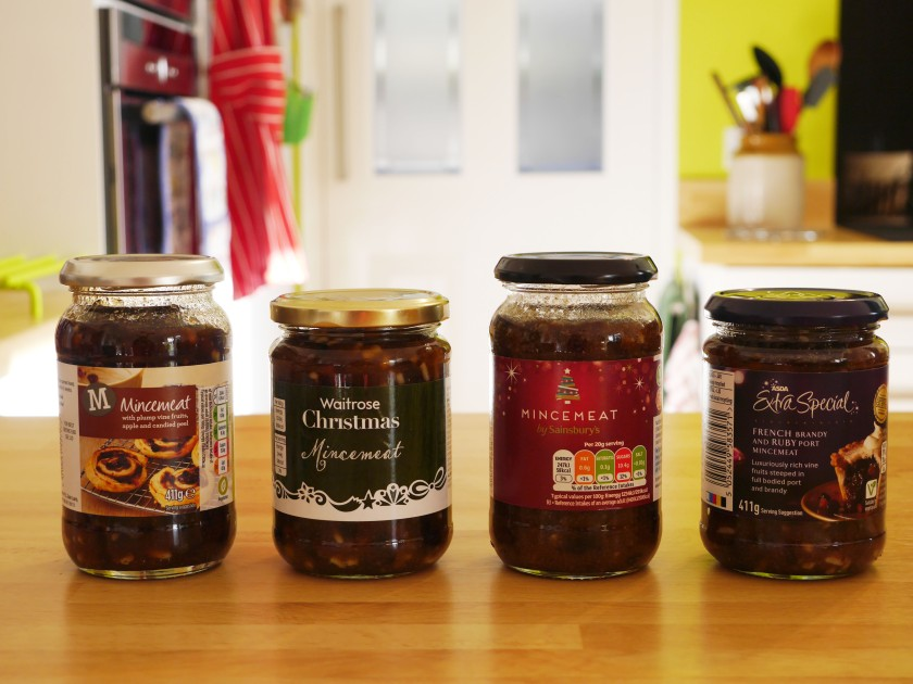 Supermarket Mincemeat Taste Test 2015