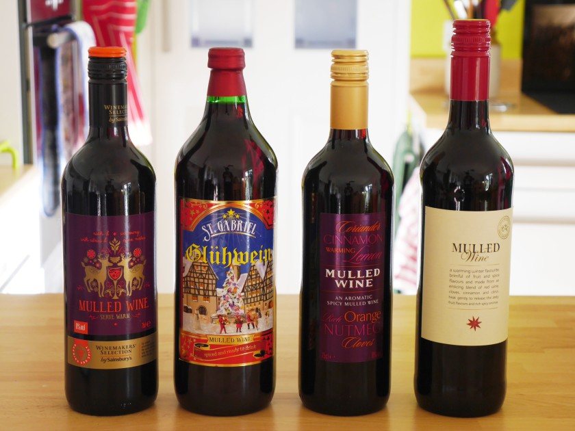 Mulled Wine Supermarket Taste Test 2015