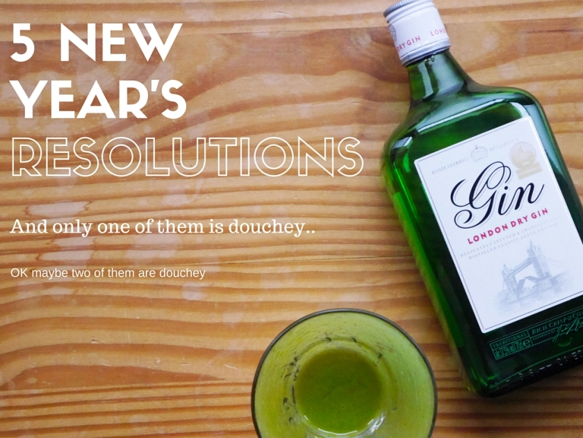 New Year's Resolutions 2016