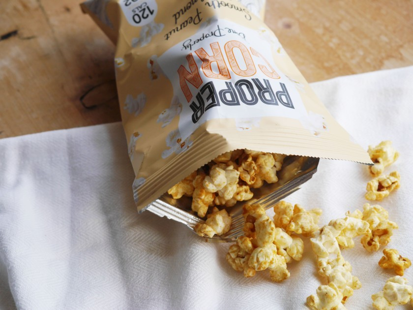 New PROPERCORN flavour - smooth peanut and almond