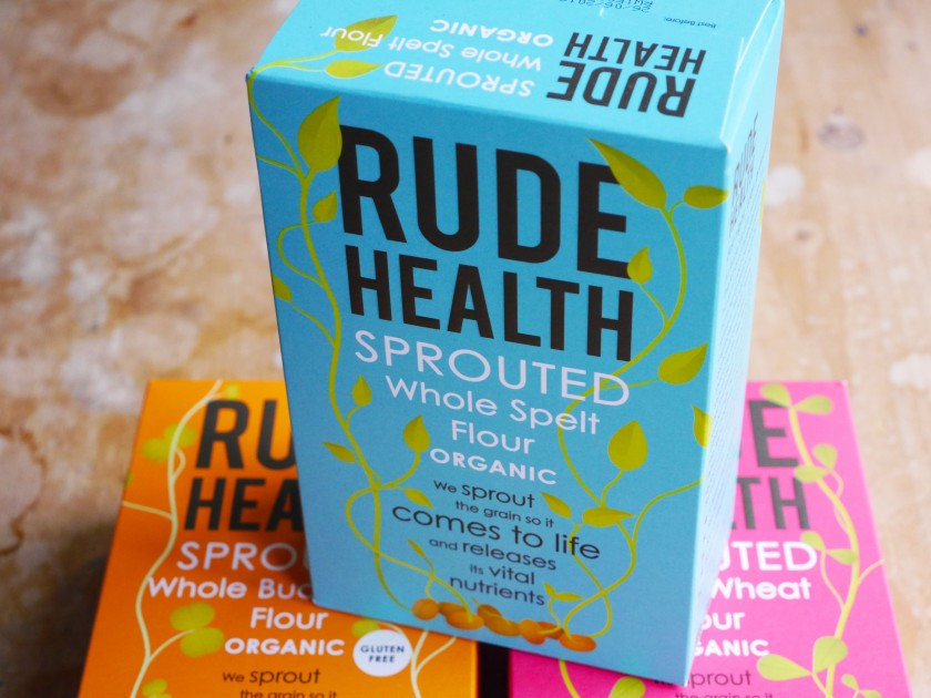 New Rude Health Sprouted Flours