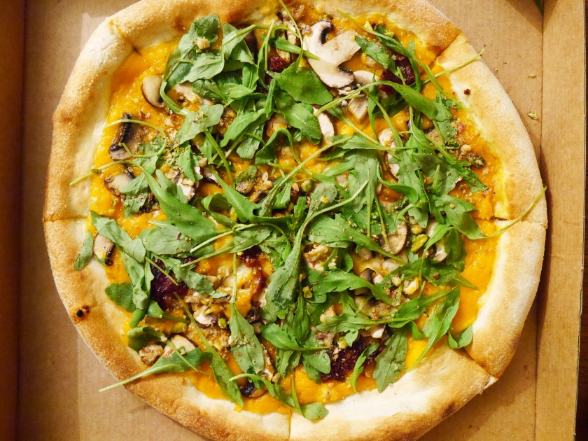 Purezza Vegan Pizza in Brighton