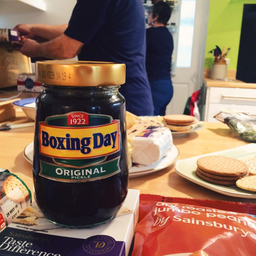 Boxing Day Branston Pickle