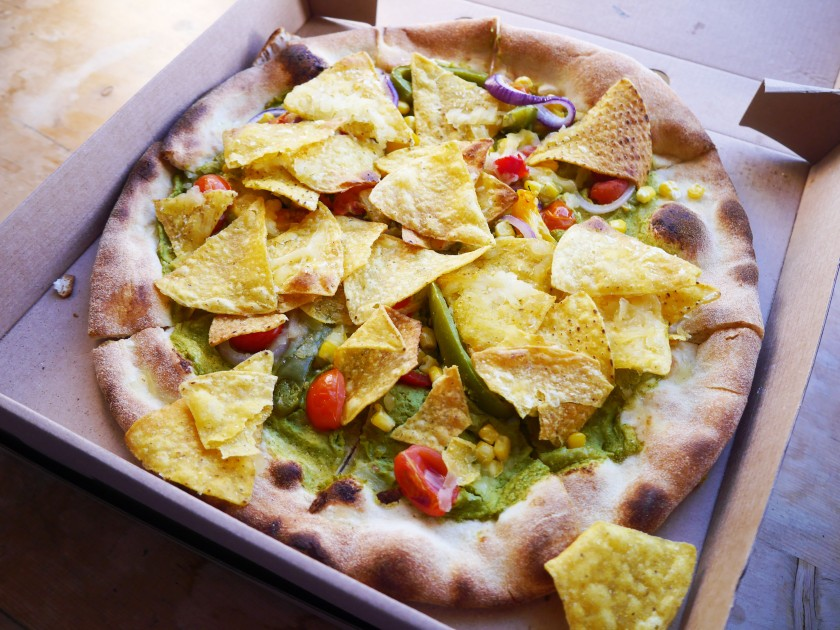 Purezza Review | Vegan Nacho Pizza